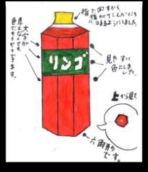 図7、子供が描いたペットボトルのユニバーサルデザイン